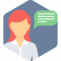 chat, comment, communication, conversation, message, talk icon