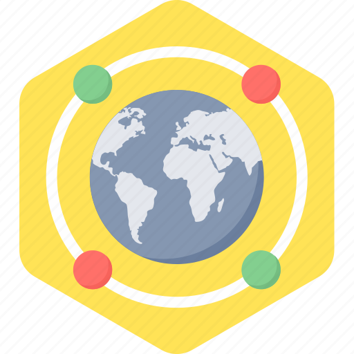 connection, global, internet, network icon