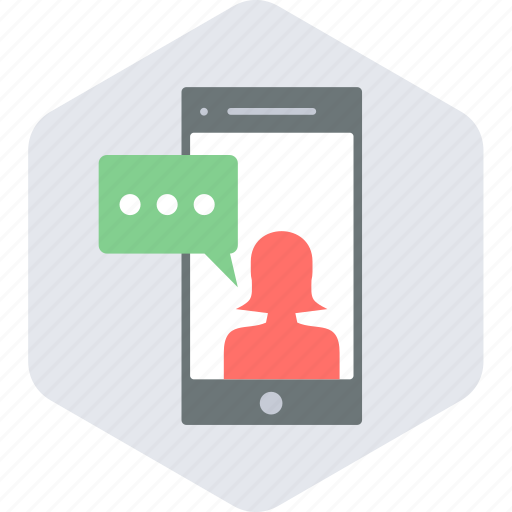 chat, message, mobile, sms, text icon