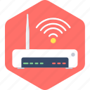 internet, network, router, wifi, wireless icon