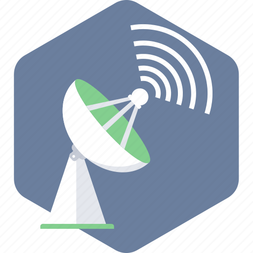 antenna, dish, network, satellite, signal, technology, wireless icon