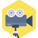 camera, digital, film, movie, photography, video icon