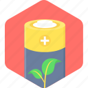 battery, eco icon