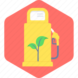 eco, ecology, fuel, gasoline, green, oil, petrol icon