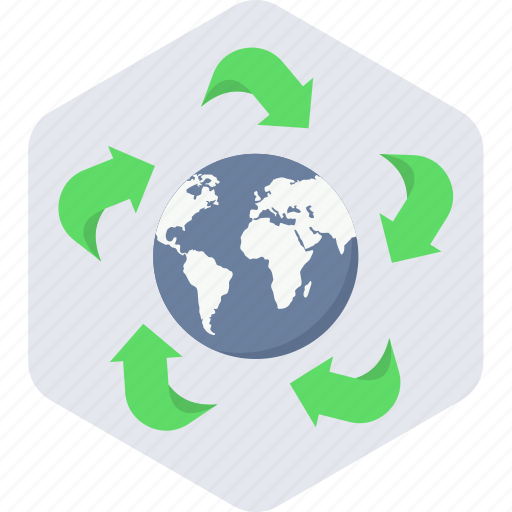 Earth, green icon - Download on Iconfinder on Iconfinder