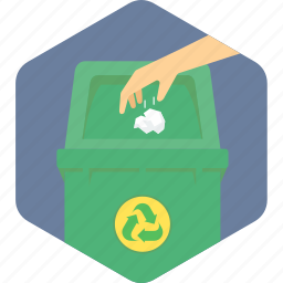 bin, dustbin, garbage, recycle, trash icon