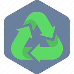bin, recycle, recycling, trash icon