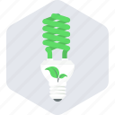 bulb, energy, lightbulb, renewable icon
