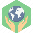 earth, guardar, save, world icon