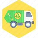 waste, managment, recycle, truck