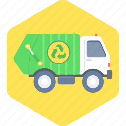 managment, recycle, truck, waste icon