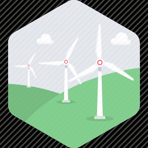 energy, wind icon