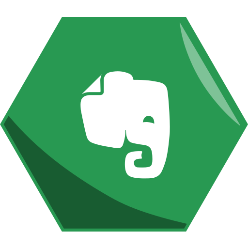 Evernote, hexagon, social icon - Free download on Iconfinder
