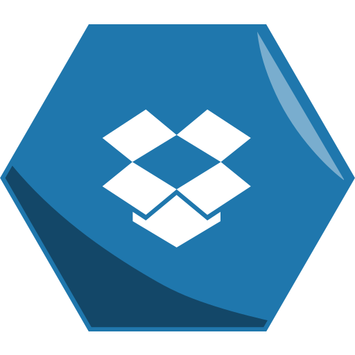 Dropbox, hexagon, social icon - Free download on Iconfinder