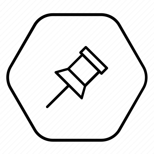 location, map pin, navigation, pin, pin board icon