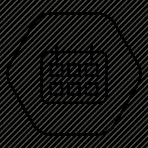 almanac, calendar, date, date block, phone icon