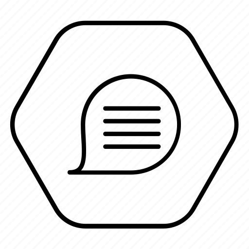 bubble, phone, speech, speech bubble icon