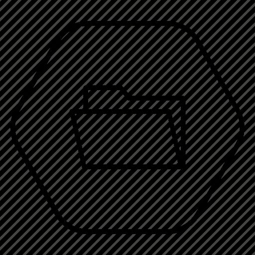 file, folder, phone icon