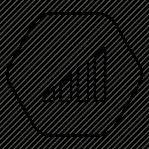 level, phone, signal, wireless, wireless signal icon
