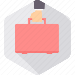 briefcase, business, chart, finance, office, portfolio, work icon