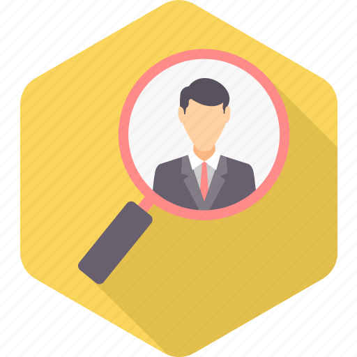 business, employee, explore, find, magnifier, optimization, search icon