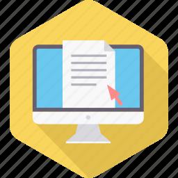 buy, click, document, online, ppc, seo, type icon