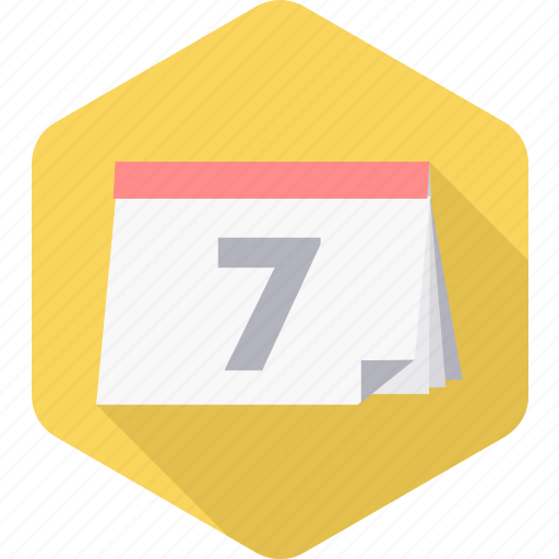 appointment, calendar, date, day, month, schedule, seven icon