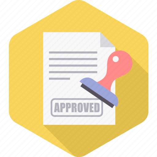 approve, approved, business, confirm, office, report, success icon