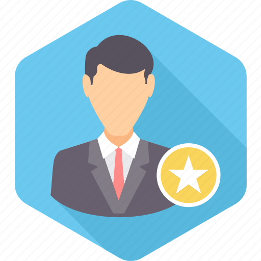 badge, employee, favorite, favourite, rating, star icon