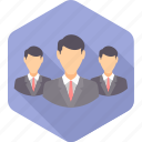 account, business, employee, manager, people, person icon