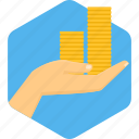 banking, budget, cash, currency, finance, investment, money icon