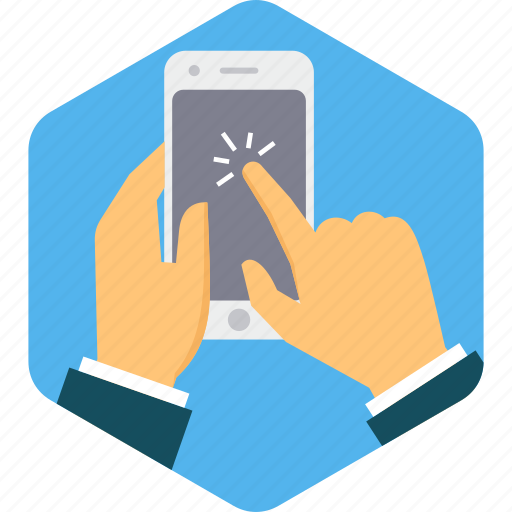device, mobile, phone, screen, smartphone, touch icon