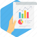 analysis, analytics, business, chart, graph, marketing, report icon