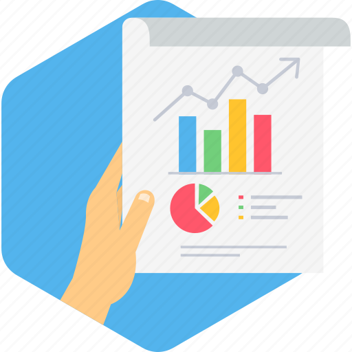 analysis, analytics, business, chart, graph, marketing, report icon