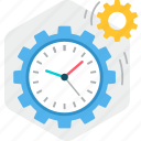 business, calendar, management, schedule, time, timer icon
