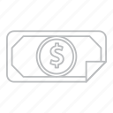 business, buy, cash, coin, currency, dollar, finance, money, payment, price, shopping icon