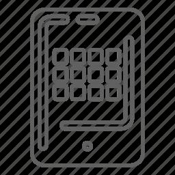 apple, phone, talk icon