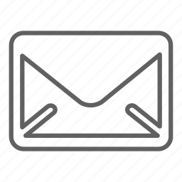 document, email, envelope, letter, mail, message, send, text icon