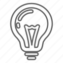 battery, bulb, electric, electricity, energy, idea, lamp, light, lightning, power, sun, sunny icon