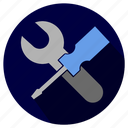 business, configuration, control, gear, internet, key, options, preferences, service, servicos, settings, system, tool, tools, work icon