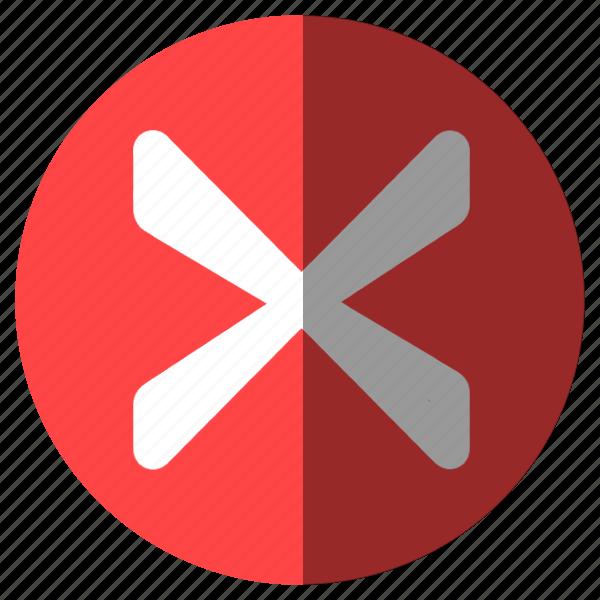 alert, attention, cancel, close, danger, delete, error, exit, leave, minus, remove, trash, warning, x icon