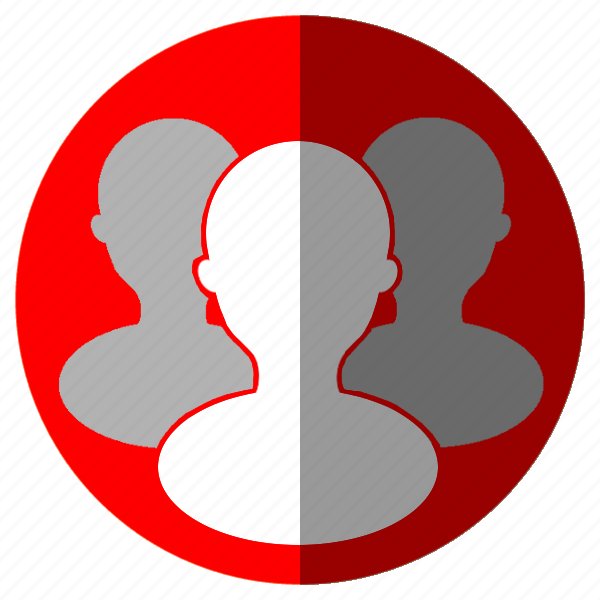 account, avatar, business, clientes, contact, female, group, human, male, man, people, person, profile, user, users, woman icon