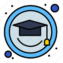 cap, education, graduation