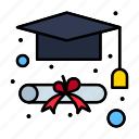cap, degree, graduation