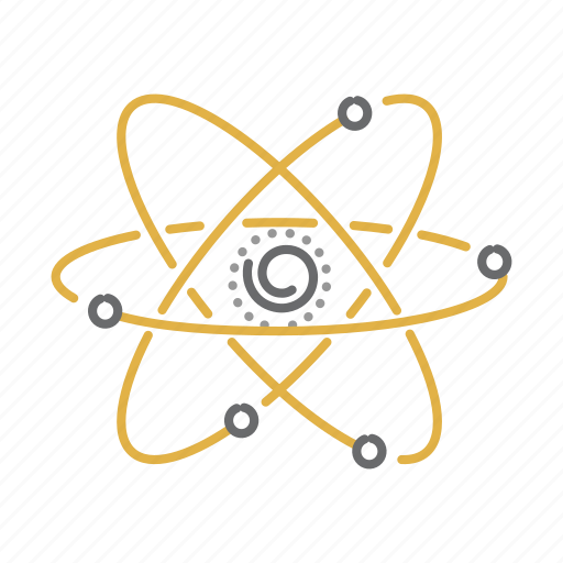 atom, molecule, physics, research, science icon