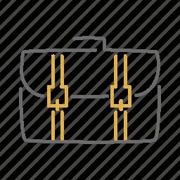 bag, briefcase, school, suitcase, travel icon