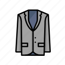 dine, dinner, suit, tux, wear icon