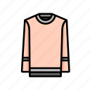 jumper, pastel, winter icon