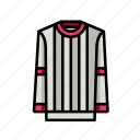 jumper, stripe, sweater icon