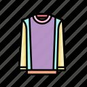 fashion, jumper, pastel icon